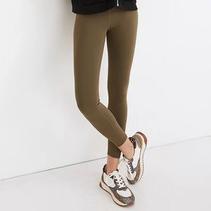 [H&M] Divided Camo Green Workout Leggings